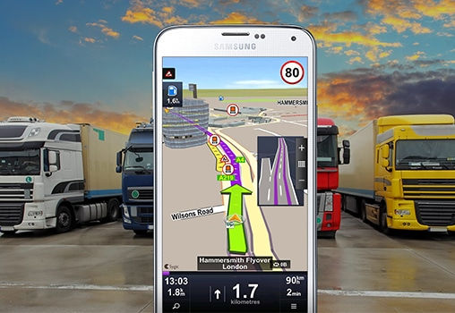 kamionska navigacija