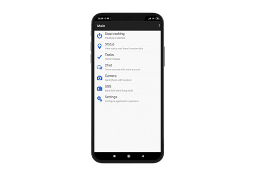 mobilna aplikacija za praćenje, komunikaciju i razmjenu dokumentacije